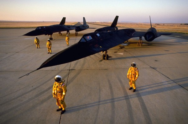 Above the Iron Curtain: High Times with the SR-71 Blackbird