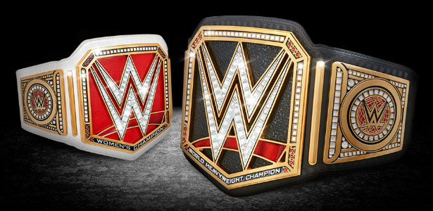 Ranking WWE's Current Championship Belt Designs