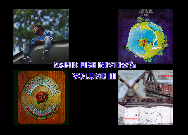Rapid Fire Reviews: Volume III