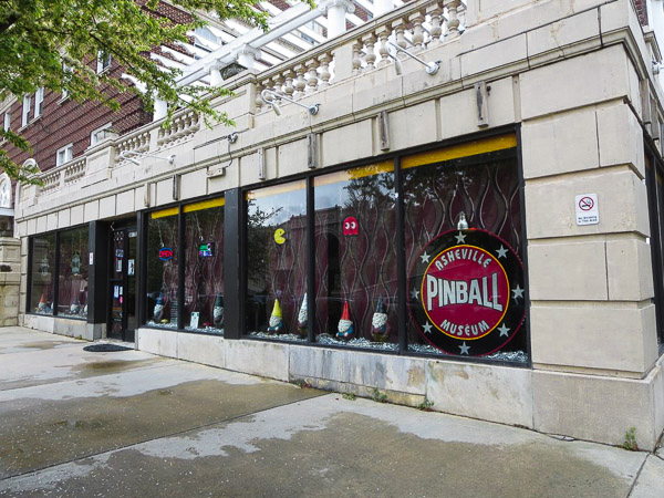 The Asheville Pinball Museum