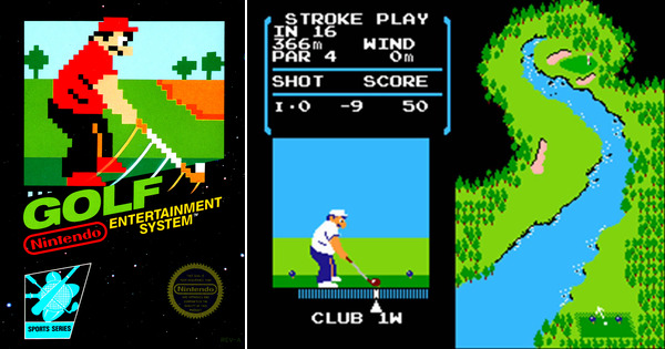 Top Five Golf Video Games