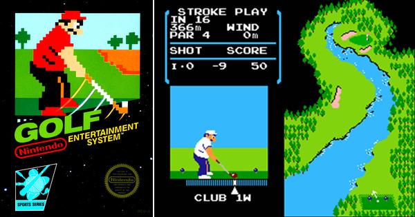 Top Five Golf VideoGames