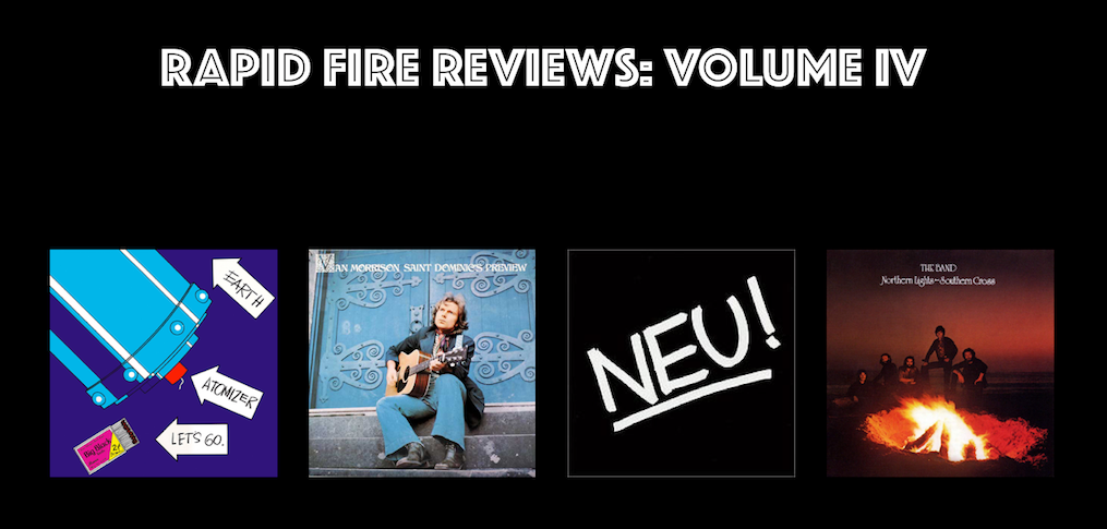 Rapid Fire Reviews: Volume IV