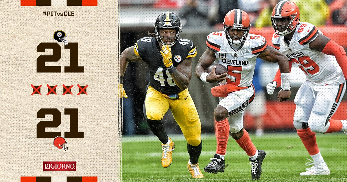 Die-Hard Cleveland Browns Fan Analysis: Week 1 '18-'19