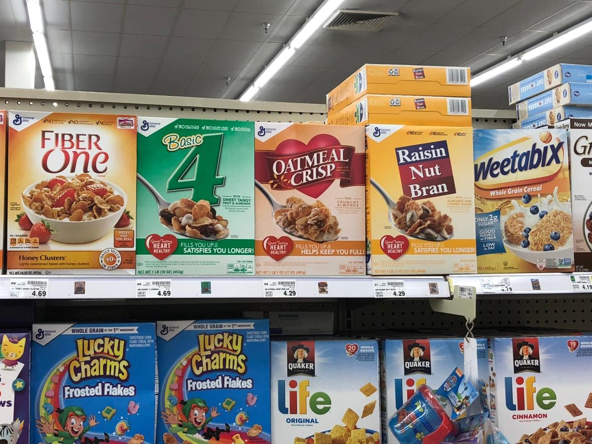 Irrelevant Cereals